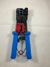 Crimping Tool 8P/Rj-45, 6P/Rj-12, Rj-11 Crimper, Cut, Strip,