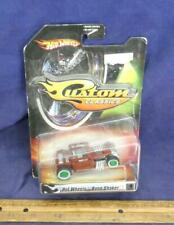 Hot Wheels CUSTOM CLASSICS BONE SHAKER Alley Rats Series 1 BRICK RED 4/5 1:50