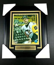 SIDNEY CROSBY MVP PITTSBURGH PENGUINS 2017 NHL STANLEY CUP #1 8X10 PHOTO FRAMED