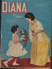 Diana for Girls Magazine No. 25  10 August 1963