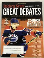 The Hockey News Great Debates Collectors Edition Magazine - Connor McDavid
