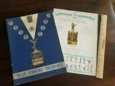 1939 Oversized Sports Trophy Catalogs – Great Images – Baseball Football