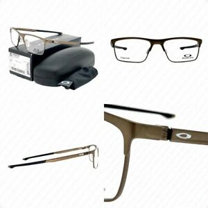 Authentic Oakley Cartridge OX5137-0254 Pewter w/Demo Lenses Eyeglasses 54-17-137