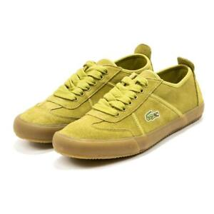 NEW Men's Lacoste Contest 0120 3 Casual Suede Sneakers