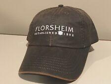 Florsheim Shoes Store Dealer NICE Logo Golf Bar Pub Hat Cap    ~NEW~