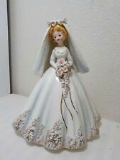 "VINTAGE JOSEF ORIGINALS BRIDE FIGURINE 8"" TALL"