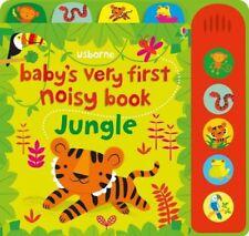 Baby's Very First Noisy Book Jungle by Fiona Watt (Board book, 2017)