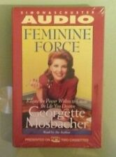 georgette mosbacher  FEMININE FORCE   CASSETTE TAPE  NEW upc cover scratches