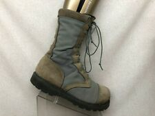 CORCORAN Brown Suede Gore Tex Steel Toe Military Jump Boots Mens Size 10.5 EE