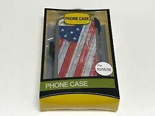 For Apple Iphone 5/5s/SE USA Flag Defender Case (Belt Clip Fits Otterbox)
