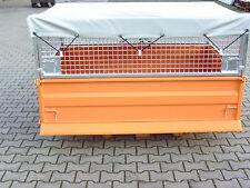 Heckcontainer, Kippmulde, Traktor, Schlepper, KM 180 >>mit Abdeckplane<<