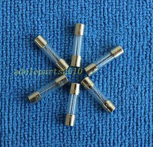 5pcs T6.3AL250V, T6.3A 250V, T6.3L250V cartridge GLASS fuses 5X20mm NEW5