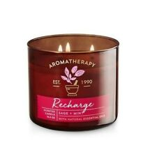 Bath and Body Works Aromatherapy RECHARGE Scented Candle 14.5OZ