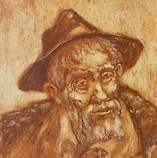 Ritratto Dipinto Olio cm. 23 x 33 Franco Puliti Livorno