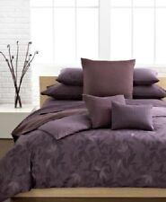 New Calvin Klein Prune Elm Twin Comforter Set w/ Sham Plum Purple