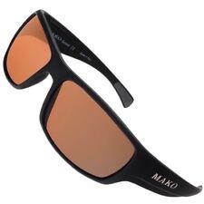 Mako Brown Glass Polarised Sunglasses - Mako Escape M01-G3SX