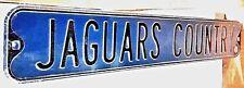 Jacksonville Jaguars Country Heavy Steel Street Sign - NFL