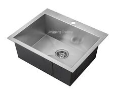 18-10 Handmade Stainless Steel Kitchen Sink / Laundry Tub (62cm x 51cm x 24cm)