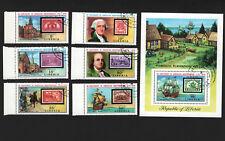 OPC 1976 US Bicentennial Stamp on Stanp Sc#703-8 C207 CTO MNH 33593