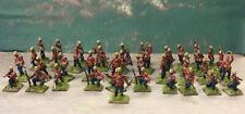 1/72 ESCI Zulu Wars 2nd Warwickshire Regiment Plastic Painted Figures x41