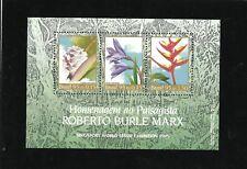 Brazil Botanical Collection Roberto Burle Marx Mi BL98 Sn 2547 Yt BF97 RHM 100