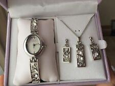 Rennie Mackintosh anima gioielli Set, orologio orecchini collana Henley Collection