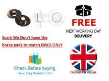 New Pair Delphi Brake Discs Iveco Daily 35C10 35S14 26L13 40C13 29L10 + MULTI