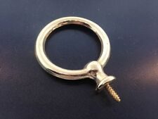 Brass Round Carriage Style Handle for Clocks