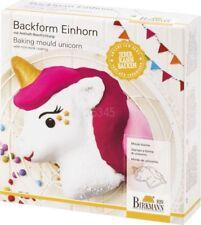Backform Motivbackform *Einhorn* Kuchenform Kinder Geburtstag Unicorn Birkmann