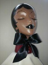 Hand Painted Styrofoam Women's Mannequin Head