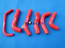 For Honda XR650R XR650 00-09 01 02 03 04 05 06 07 08 silicone RADIATOR HOSE RED