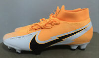 Nike Mercurial Superfly 7 Pro Fg Soccer Cleats Laser Orange AT5382-801 Size 11.5