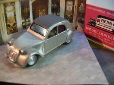 1/43 Vitesse Citroen 2CV 1948 silbermetallic Boulangerie