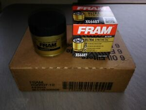 SIX(6) Fram Ultra Synthetic XG6607 Oil Filter CASE fits M1-108A M1-108 51365XP