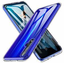 Huawei nova 5T Handy Hülle Silikon Cover Schutzhülle Soft Case transparent klar