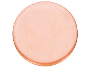 Round pure Solid 99.9% Copper 3mm Metal discs Jewellery Making / Metal Stamping