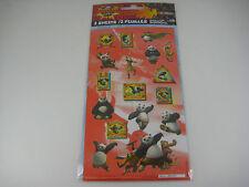 Stickerfitti Kung Fu Panda - 2 Sheets of Stickers #S1