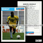 DESAILLY MARCEL (FC NANTES, MILAN AC, CHELSEA...) - Fiche Football 1991