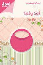 Joy Crafts Die Cutting & Embossing Stencil - Baby Girl -Pocket - 6002/0215 -SALE