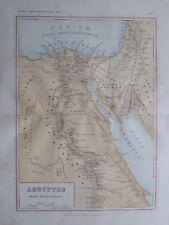 Aegyptus tempore Patriarcharum - alte Landkarte aus 1906 old map