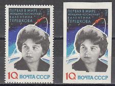 Su/CCCP n. 2784 a ** e 2784 B ** WOSTOK 6/Ivanovna tereschowa
