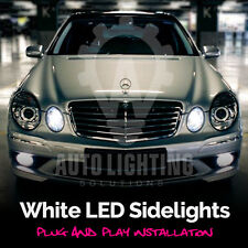 Mercedes E Class W211 2002-2009 & C Class W203 2000-2007 White LED Sidelights