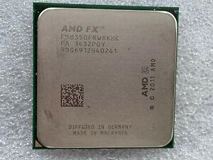 AMD FX-8350 4.0GHz ocho núcleos AM3 procesador AM3+ AMD FX-8350 Black Edition
