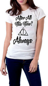 Always - Harry Potter T-shirt - Deathly Hallows - Maglietta Doni della Morte