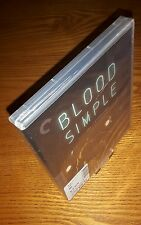BLOOD SIMPLE Criterion Blu-ray US import region a free P&P(Coen brothers' noir)