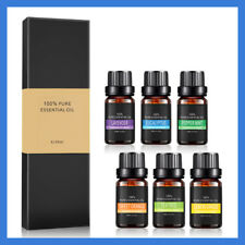 100% Pure Natural Aromatherapy Essential Oils Kit 6x10ml For Diffuser Choose Set