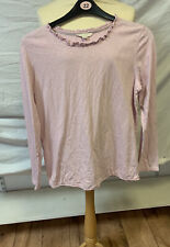 White Stuff Ladies Long Sleeved Top Size 14