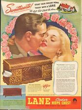 1946 Cedar Lane Hope Chest Vintage Original Print Ad Altavista, PA