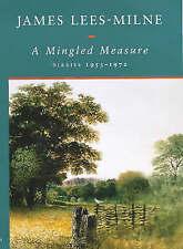 A MINGLED MEASURE: DIARIES, 1953-1972., Lees-Milne, James., Used; Very Good Book