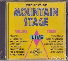 Alex Chilton/Warren Zevon+others - The Best of Mountain Stage Vol. 3 - BPM-003CD